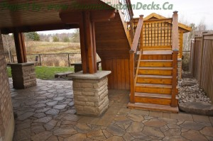 deck builders willing to provide guarantee
