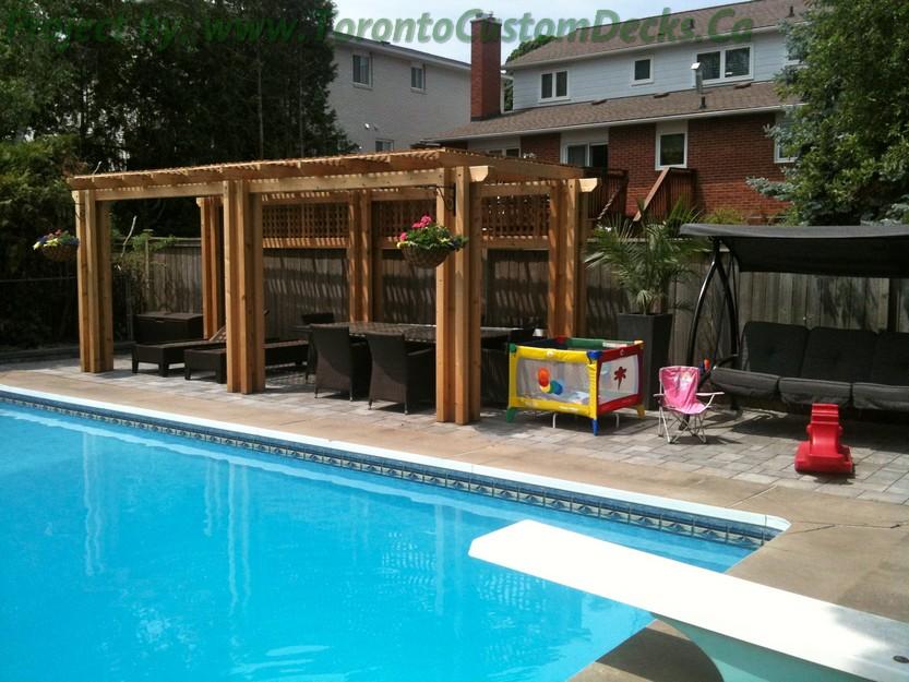 pergola und pool pictures - photo #24