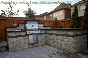 outdoor kitchen location