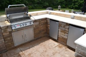 Outdoor Kitchen Ready for the Warmer Toronto Weather