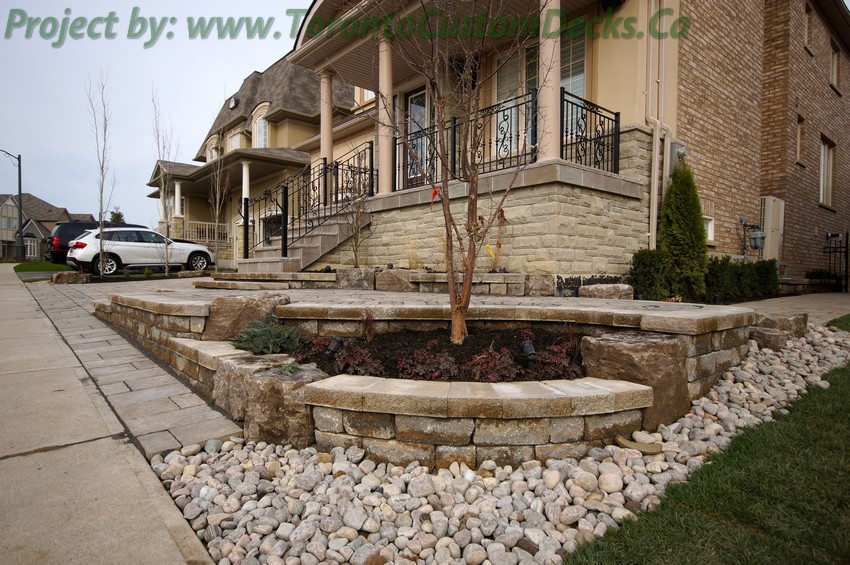 Landscaping and interlocking project