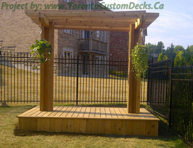 Patio Deck and pergola design project