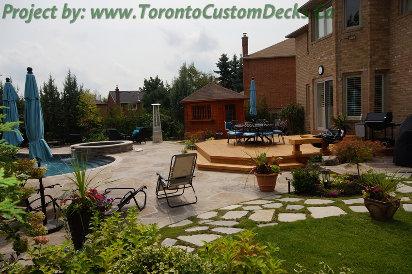 Patio Deck and landscaping project