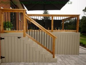custom decks local climate