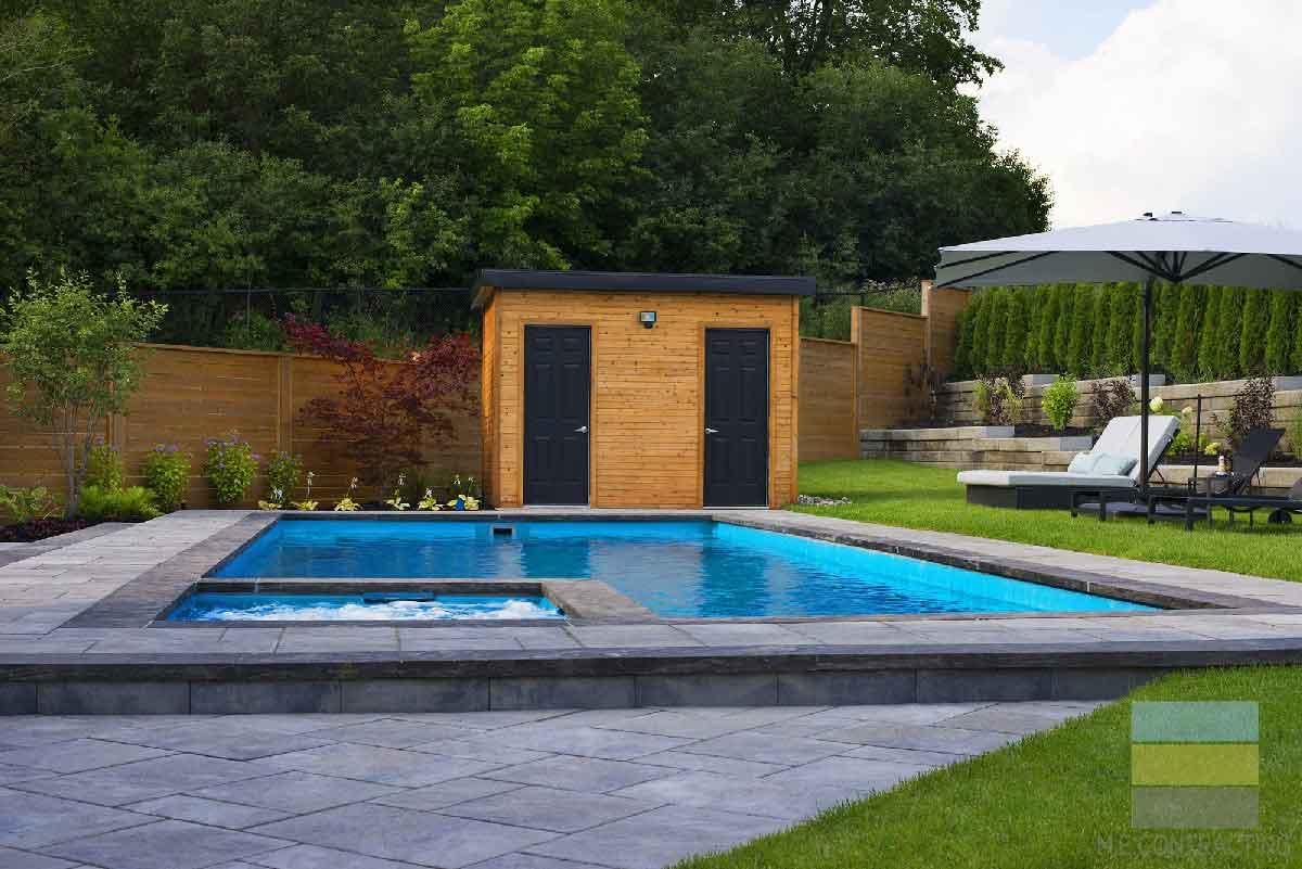 Landscaping Project in Toronto with Pool Construction & Outdoor Kitchen