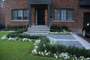 landscaping and interlock